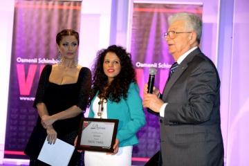 Premiul de Excelenta al revistei VIP, oferit de acad. rus, Yuri Oganessian