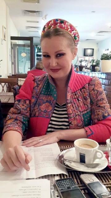 "Tania Popa: ""Vorbesc tot timpul rusa"""