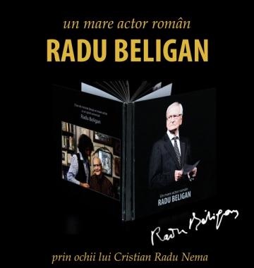 Fotografii de colectie cu Radu Beligan intr-un album foto unic in Romania
