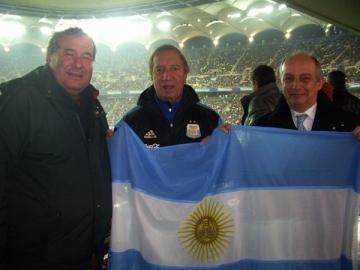 Zeii fotbalului pe Arena Nationala la Romania � Argentina