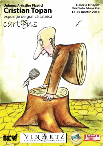 Cu grafica satirica a lui Cristian Topan... nu-i de glumit!