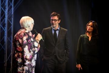 "Michel Hazanavicius, regizorul  filmului ""The Artist"", la  Halloween Charity Ball"