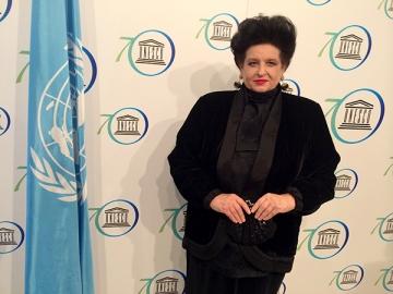 Mariana Nicolesco la reuniunea extraordinara UNESCO