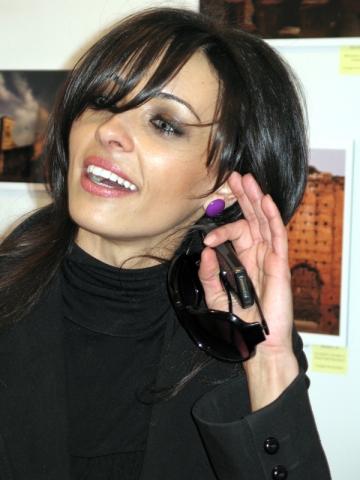 Cosmina Pasarin, vedeta colectiei semnate Stefan Musca